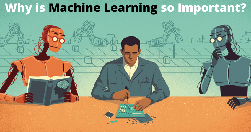 Why is machine learning so important and where it is used?