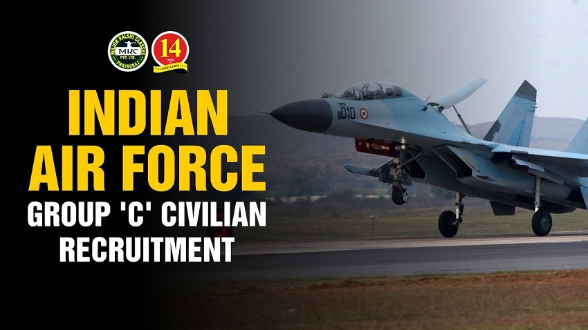 Indian Air Force Group C Recruitment